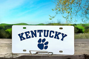Custom Kentucky License Plate Customplatesandhitch com