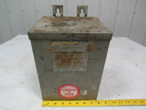 Acme Electric Ti53013 4 3 0kva Transformer 240 480vpri 120 240sec 60hz 1ph