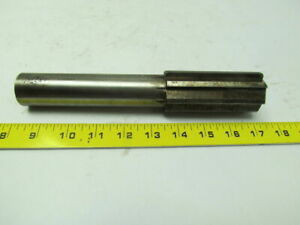 1 598x9 Oal 8 Straight Flute Carbide Tipped Chucking Reamer