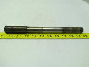 Rock River Tool 2400 1 0275 8 Straight Flute Carbide Tipped Chucking Reamer