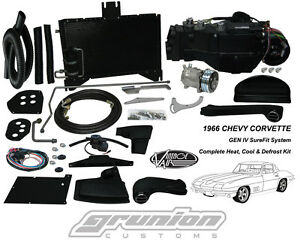 Chevy Corvette 1967 W Ac Air Conditioning Heat Defrost Kit Vintage Air 964166