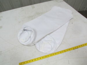 8 1 2 Dia X 34 Dust Collector Filter Bag Hard Ring W strap Lot Of 35
