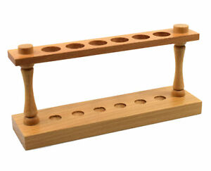 9 5 Wooden Test Tube Stand 6 Holes