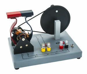 Demonstration Motor Generator Activity Model ac dc Hand Powered