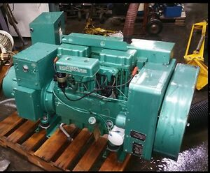 Onan Electric Plant Generator Model 12jc 4rv31 1m