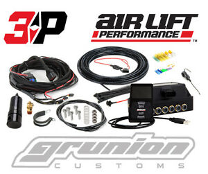 Air Lift 3p Digital Air Bag Ride Suspension Pressure Control System 1 4 Slammed
