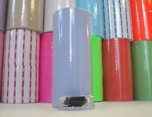 Labels flat Blue For Monarch 1110 1 Sleeve 16 Rolls