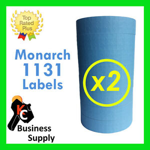 40 000 blue Labels For The Monarch 1131 2 Sleeves Free Shipping
