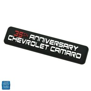 2002 Chevrolet Camaro 35th Anniversary Dash Plaque Gm 10300961