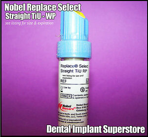 Nobel Biocare Replace Select Straight Tiu 5 0 X 11 5mm Exp 2017 10