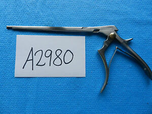 Codman Neuro Spine Spinal 3mm Classic Cervical Kerrison Rongeur 53 1529