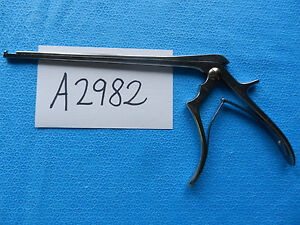 Codman Neuro Spine Spinal 4mm Classic Cervical Kerrison Rongeur 53 1531