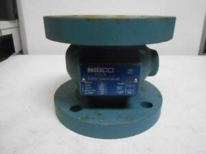 Nibco 3 Cast Iron Fire Protection Check Valve Inline Silent Check Class 125