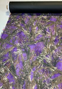 20 Yards 1000d Seat Cover Fabric Automotive Cordura True Timber Mc2 Purple 60 w