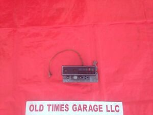 Plymouth Cuda Barracuda Dodge Challenger Radio 70 71 72 73 74 Mopar Am
