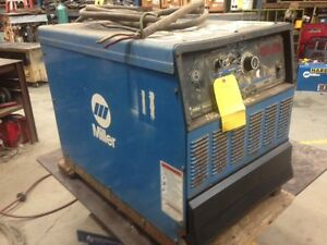 Miller Dimension 652 Multi process 650a Welding Power Source