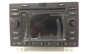 Ford Expedition Navigation Cd Radio In dash Oem Nav Gps Stereo