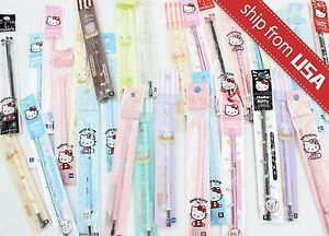 Lot 10pcs Sanrio Licensed Hello Kitty 0 38mm Rollerball Gel Ink Pen Refills Cute