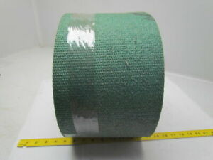 Hard Green Woven Solid Conveyor Belt 16ft X 8 X 1 4 Thick