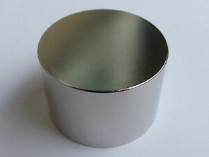 N52 Diameter 50mm X 30mm Round Neodymium Permanent Cylinder Magnets D50 X 30 Mm