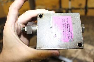 Hydraulic Valve Hytec 9613 Pressure Control Sequence Pressure