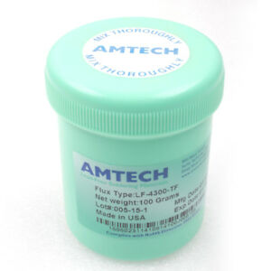Original Bga Solder Water washable Flux Paste Lead free Amtech Lf 4300 tf 100g