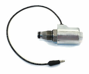New Snow Plow 1 2 Solenoid Coil Valve a Black Wire For Diamond Meyer 15661