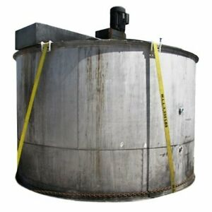 Used 3 500 Gallon Stainless Steel Tank With Mixer