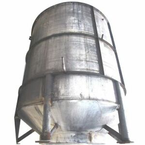 Used 3 000 Gallon Stainless Steel Tank Vertical Liquid