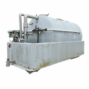 Used 4000 Gal Mueller Tank 316 Stainless Steel With Dike