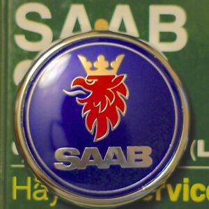 Saab 9 3 Wagon 2006 2011 Trunk Badge