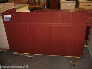 Kiosk Retail Register Counter Cherry 1009 82 X 36 X 45