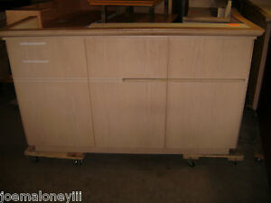 Kiosk Retail Counter Register Counter Blonde 1051 75 X 26 X 45