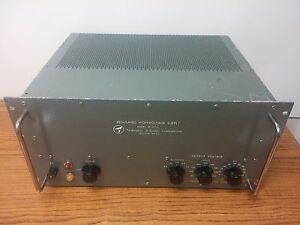Regulated High Voltage Power Supply 5 3kv 100ma Re 3010c