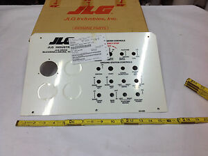 Jlg 3251895 Nameplate Decal Ground Control Lid Manlift Dash Panel New In Box