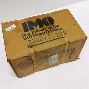 Imo Rotary Pump 3240 011ra New pzb