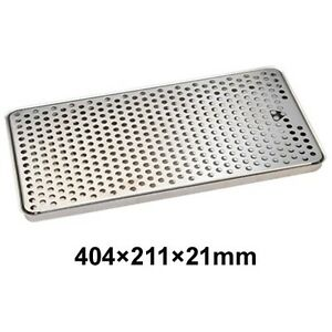 Stainless Steel Surface Mount Drip Tray Beer Faucets Draft Tower Kegerator