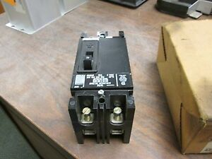 Westinghouse Circuit Breaker Fb2015 15a 600v 2p New Surplus