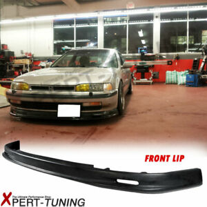 Fits 90 93 Honda Accord Mg Front Bumper Lip Spoiler Pp