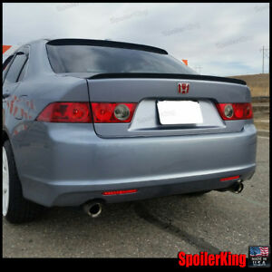 Combo Deal Acura Tsx 2004 2008 Rear Roof Spoiler Trunk Wing 284r 284l