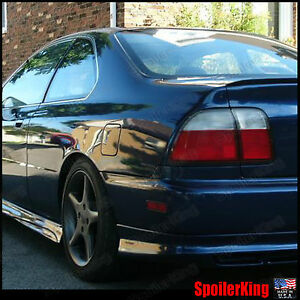 Rear Trunk Lip Spoiler Wing fits Honda Accord 1994 97 4dr 244l Spoilerking
