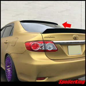 Toyota Corolla 2011 2013 Rear Window Roof Spoiler Polyurethane Wing 284r