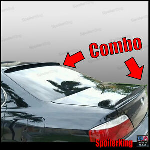 Combo Rear Roof Wing Trunk Lip Spoiler Fits Acura Tl 1999 03 284r 244l