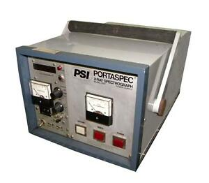 Psi 2501 Portaspec X ray Spectrograph Power Supply And Fixture Sold As Is