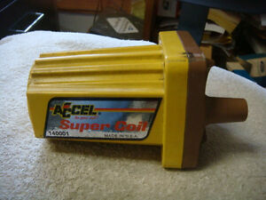 Good Used Accel Super Coil Ignition Coil 140001 Ford Mustang Chevy Rat Rod