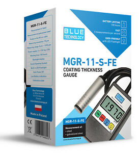 Paint Coating Thickness Gauge For Cars Mgr 11 s fe Video Presentation