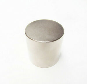 N52 Diameter 50mm X 50mm Round Neodymium Permanent Cylinder Magnets D50 X 50 Mm