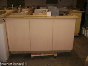 Kiosk Retail Counter Blonde 1011 75 X 26 x 38