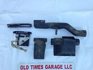1975 80 Dodge Truck Pickup Ramcharger Dash A C Ac Heater Control Ducts