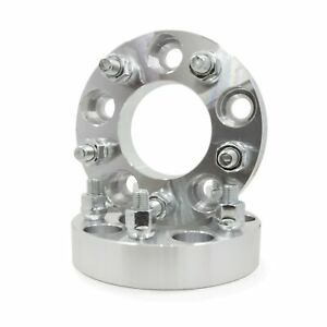 2 Wheel Spacers 5x4 25 5x108 1 25 32mm Thick 5 Lug Adapter